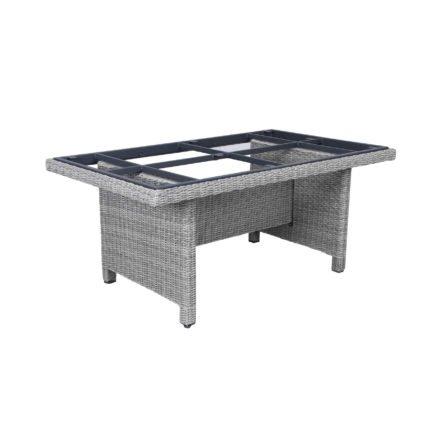"Kettler Tischgestell ""Palma Modular"", Polyrattan white-wash, 160x95 cm"