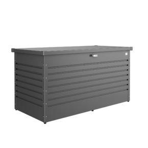"""Biohort """"FreizeitBox"""", Stahlblech dunkelgrau-metallic, Größe 160 high"""