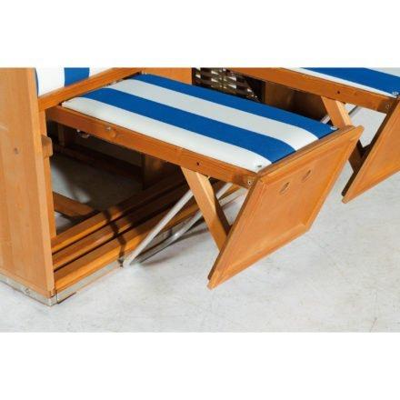 Sonnenpartner Strandkorb Fußstütze höhenverstellbar