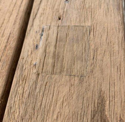 Stern Tischplatte Old Teak