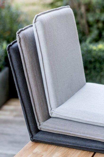 """Niehoff Sitzschale """"Nette"""", Batyline®-Gewebe anthrazit, taupe und grau"""