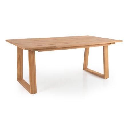 """Brafab """"Laurion"""" Gartentisch, Gestell und Tischplatte Teakholz, 180x100 cm"""
