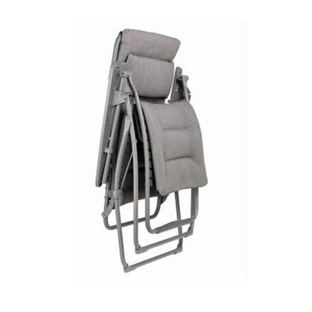 "Lafuma Relaxliege ""Futura XL BeComfort"", Stahl titane, Textilene silver"