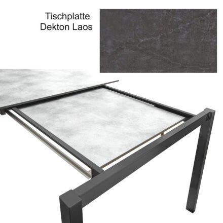 """SIT Mobilia Ausziehtisch """"Etna"""" mit Einlegeplatte"""