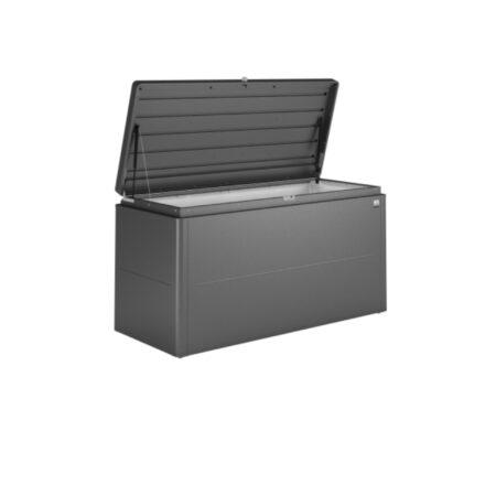 """Biohort """"LoungeBox"""" Stahlblech feuerverzinkt, dunkelgrau-metallic, Größe 160"""