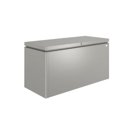 """Biohort """"LoungeBox"""" Stahlblech feuerverzinkt, quarzgrau-metallic, Größe 160"""