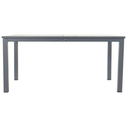 """Hartman """"Comino"""" Gartentisch, Gestell Aluminium xerix, Tischplatte Keramik grey wood, 163x105 cm"""