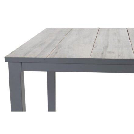 """Hartman """"Comino"""" Gartentisch, Gestell Aluminium xerix, Tischplatte Keramik grey wood"""