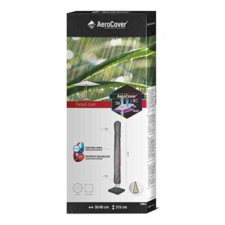 AeroCover Sonnenschirm-Schutzhülle - H215x30/40 cm für Mittelmastschirme bis Ø 400 cm