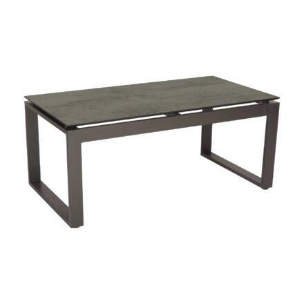 """Stern Beistelltisch """"Allround"""", Gestell Aluminium anthrazit, Tischplatte HPL zement"""