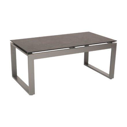 """Stern Beistelltisch """"Allround"""", Gestell Aluminium graphit, Tischplatte HPL dark marble"""