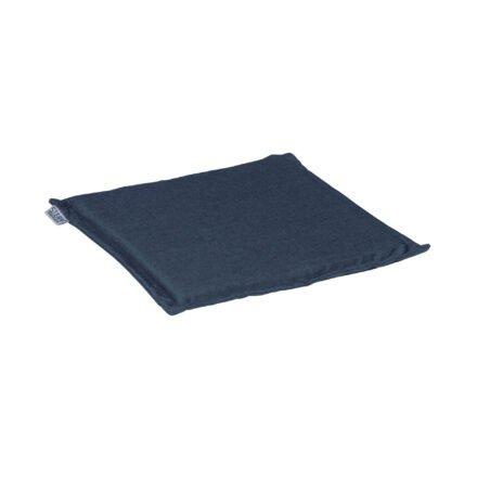 Stern Sitzkissen 44x44x3 cm, Dessin dunkelblau