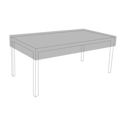 Zebra Schutzhülle, Tisch rechteckig (Symbolbild)