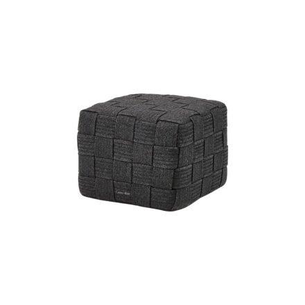 "Cane-line ""Cube"" Hocker, Soft Rope dark grey"