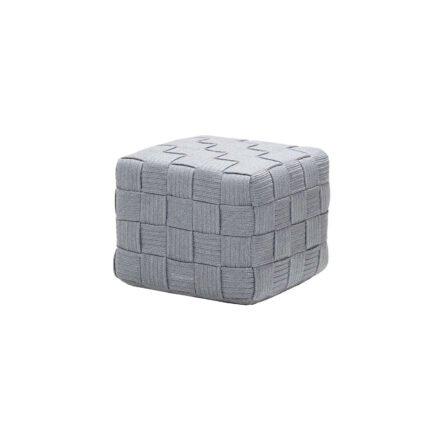 "Cane-line ""Cube"" Hocker, Soft Rope light grey"