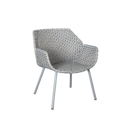 "Cane-line ""Vibe"" Loungesessel, Geflecht light grey/grey/taupe"