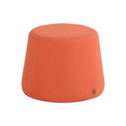 "Hartman ""Trapezium"" Loungehocker, Sunbrella Paprika Orange"