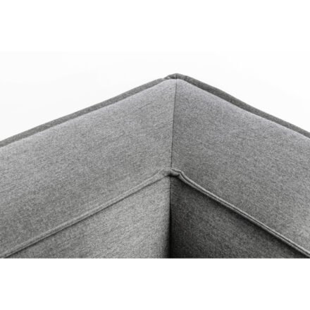 """Kettler """"Modena"""" Lounge-Eckteil, Gestell Aluminium silber, Polster Sunbrella® flanelle, Detail"""