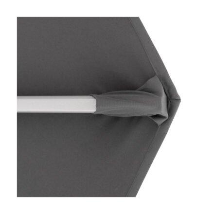 """Doppler """"Active"""" Ampelschirm Ø 370 cm, Aluminium, Bezug Anthrazit"""