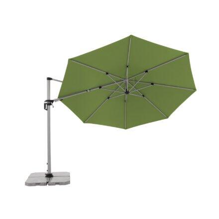 "Doppler ""Active"" Ampelschirm Ø 370 cm, Aluminium, Bezug Fresh Green"