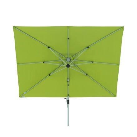 "Doppler ""Active"" Ampelschirm 350x260 cm, Aluminium, Bezug Fresh Green"