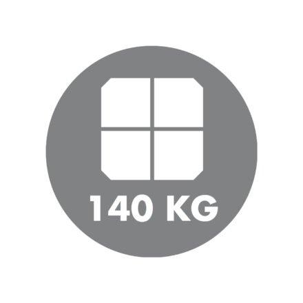 Doppler Sonnenschirm - Sockelkreuz für 4 Platten - Mindestgewicht 140 kg