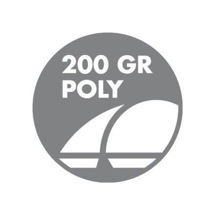 Doppler Sonnenschirm - Bezug 100 % Polyester, ca. 200g/m²