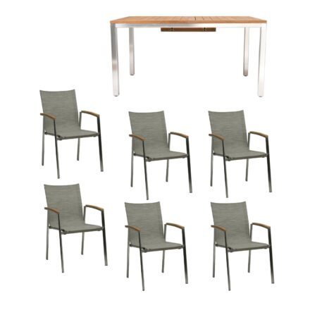 """Gartenmöbel-Set mit Tisch """"Mallorca"""" und Stuhl """"New Top"""""""