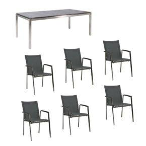 """Gartenmöbel-Set mit Tisch """"Muri"""" und Stuhl """"New Top"""""""