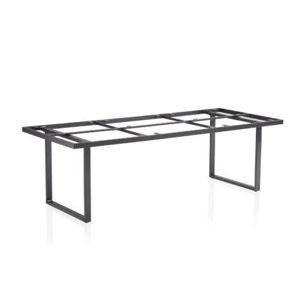 "Kettler ""Skate"" Tischgestell, Casual Dining, Aluminium anthrazit, 220x95 cm"