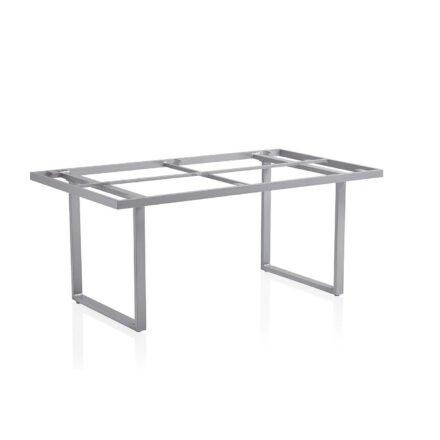 "Kettler ""Skate"" Tischgestell, Casual Dining, Aluminium silber, 160x95 cm"