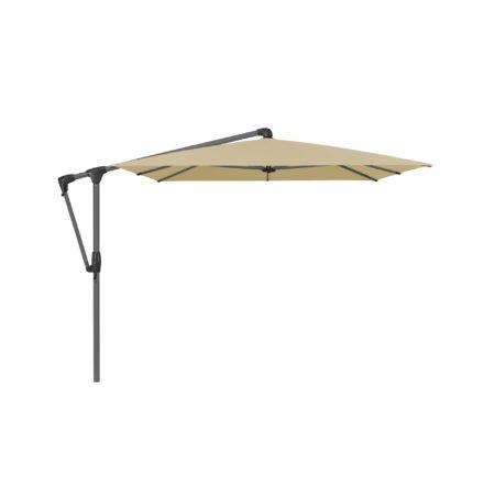 """Sonnenschirm """"SUNWING® Casa"""", Gestell Aluminium anthrazit, eckig, von GLATZ, Dessin 526 - Bamboo (© by GLATZ AG, Schweiz)"""