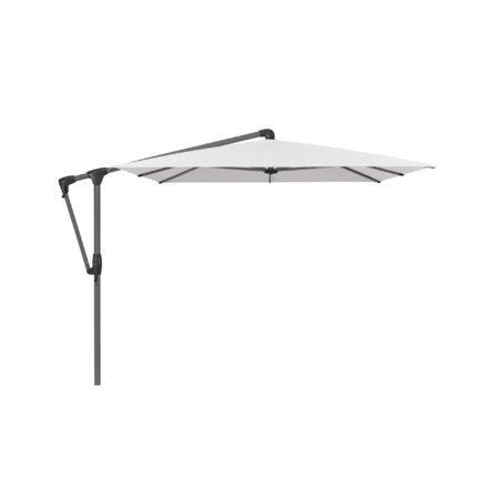 """Sonnenschirm """"SUNWING® Casa"""", Gestell Aluminium anthrazit, eckig, von GLATZ, Dessin 664 - Pearl (© by GLATZ AG, Schweiz)"""