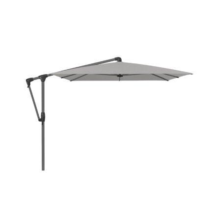 """Sonnenschirm """"SUNWING® Casa"""", Gestell Aluminium anthrazit, eckig, von GLATZ, Dessin 527 - Urban Chrome (© by GLATZ AG, Schweiz)"""