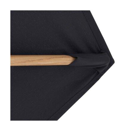 """Doppler """"Alu Wood"""" Ampelschirm 300x220 cm, Farbe Anthrazit"""