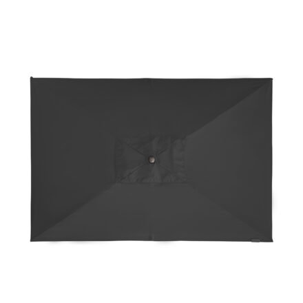 "Doppler ""Alu Wood"" Kurbelschirm 300x200 cm, Bezug Farbe Anthrazit"