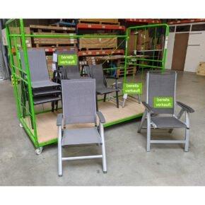 Kettler Gartenstühle, kleine Mängel möglich, Ausstellung Karlsruhe