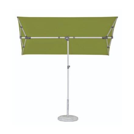 """Sonnenschirm """"Flex-Roof"""" von SUNCOMFORT® by GLATZ, eckig, 210 cm x 150 cm, Dessin 027 - Kiwi"""