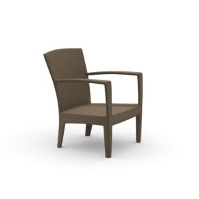 "DEDON Loungesessel ""PANAMA"", Aluminiumgestell, DEDON Faser bronze"