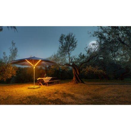 """Sonnenschirm """"Fortello® LED"""" von GLATZ (© by GLATZ AG, Schweiz)"""