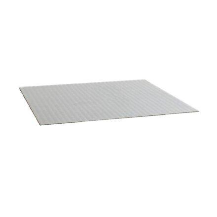 Jati&Kebon Glasplatte für Loungetisch, 95 x 80 cm
