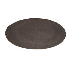Stern Outdoor-Teppich, Polypropylen schiefergrau, Durchmesser 140 cm