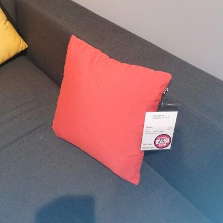 """Hartman """"Samson"""" Dekokissen 45x45 cm, Farbe Orange - Ausstellung Weil"""