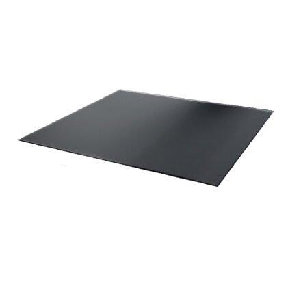 Jati&Kebon Tischplatte 10 mm, Glas satiniert anthrazit, 90x90 cm