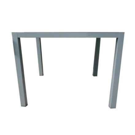 "SIT Mobilia ""Rigby"" Tischgestell, Aluminium silber, 95x95 cm"