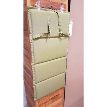 Stern Auflage für Stapelsessel, 93x46 cm, Farbe Uni Olive - Ausstellung Lauchringen