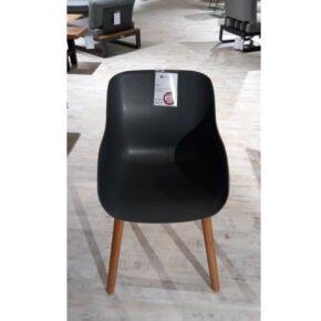 "Hartman ""Sophie Teak"" Organic Chair, Gestell Teakholz, Sitzschale Kunststoff xerix, Ausstellung Weil"