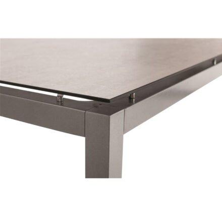 Stern Tischplatte HPL (Silverstar) Zement hell