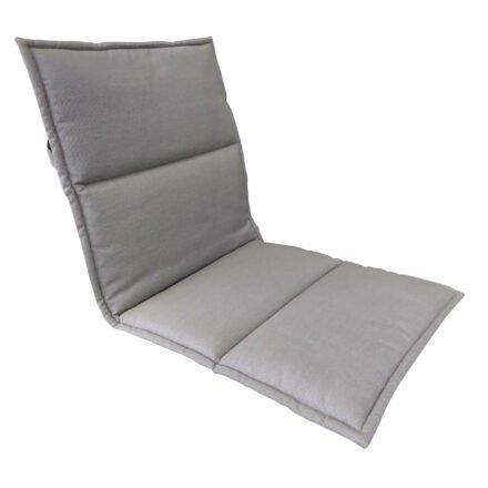 Gartenkultur Auflage für Stapelsessel, mit Stehsaum, Sunbrella® Nature Grey