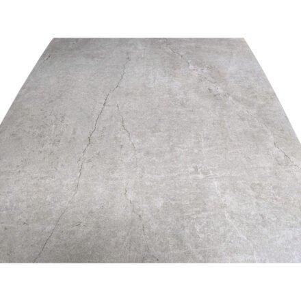 """SIT Mobilia """"Jura-Delemont"""" Gartentisch, Gestell Stahl eisengrau lackiert, Tischplatte Dekton Soke, Detail Tischplatte"""